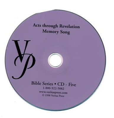 Acts-Revelation Memory Song CD  -     By: Marlin Detweiler, Laurie Detweiler