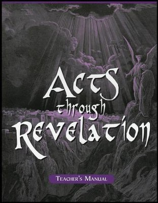Acts-Revelation School Manual  -     By: Marlin Detweiler, Laurie Detweiler