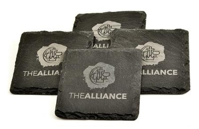 The Alliance, Slate Coasters   -