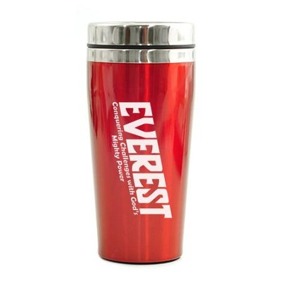 Everest VBS, Travel Mug, Red   -