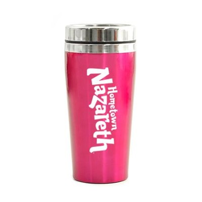 Hometown Nazareth VBS, Travel Mug, Pink   -