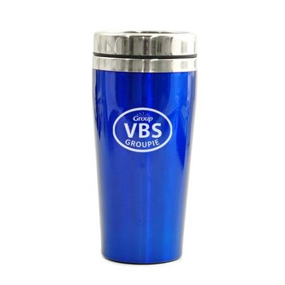 VBS Groupie, Travel Mug, Blue   -