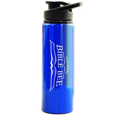 National Bible Bee Water Bottle - Flip Top   -