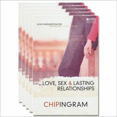Love, Sex & Lasting Relationships Study Guide - 5 Pack   -     By: Chip Ingram