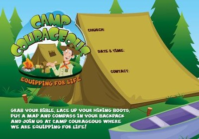 Camp Courageous VBS 2015: Publicity Poster (19 X 13)   -