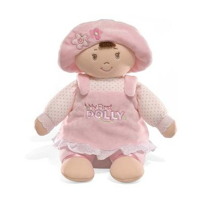 My First Dolly Brunette Plush   -