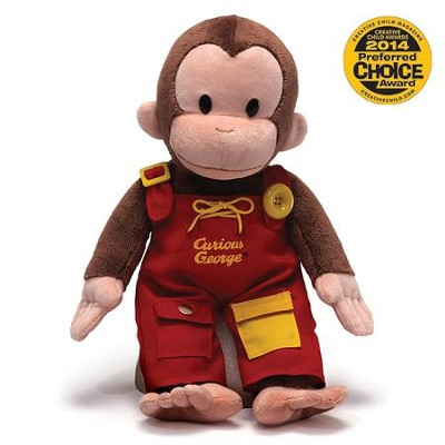 Curious George Teach Me Plush   -     By: Margret Rey