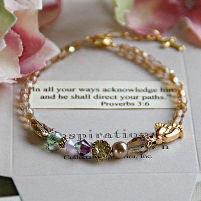 And He shall direct your paths Bracelet  -