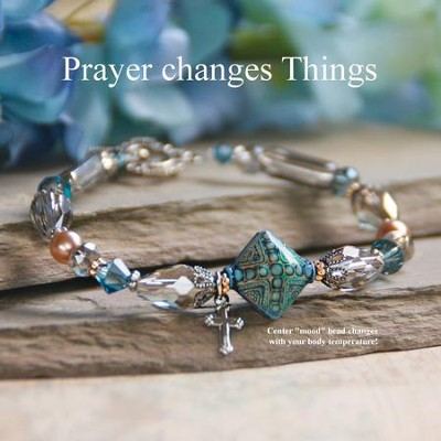 Prayer Changes Things, Mood Bracelet  -