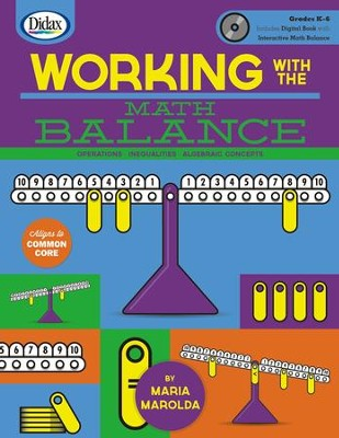 Working with Math Balance w/ CD-ROM: Maria Marolda: 9781583244241 ...