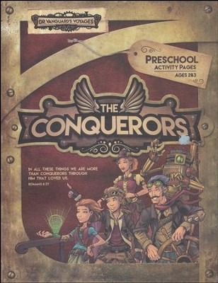 The Conquerors VBS 2016: Preschool Activity Pages with Stickers  -