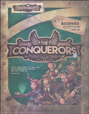 The Conquerors VBS 2016: Beginner Activity Pages with Stickers  -