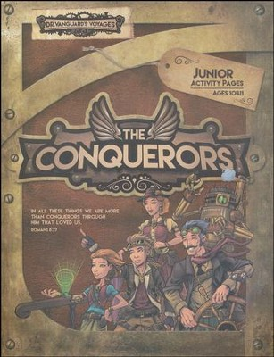 The Conquerors VBS 2016: Junior Activity Pages with Stickers  -