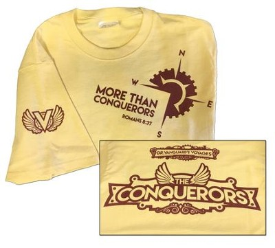 The Conquerors VBS 2016: Youth Large T-shirt (14-16)   -