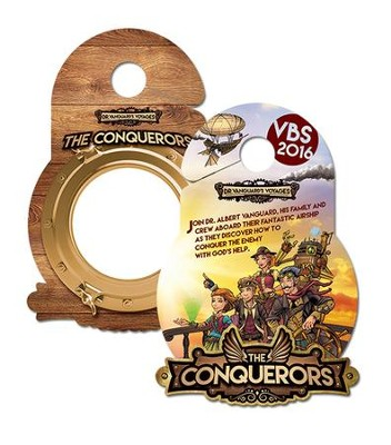 The Conquerors VBS 2016: Doorknob Hangers, pack of 50    -