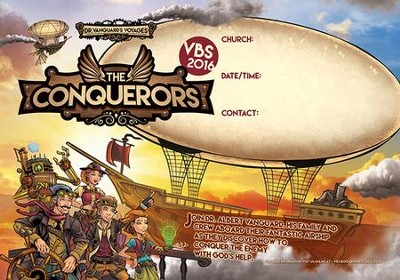 The Conquerors VBS 2016: Publicity Poster   -