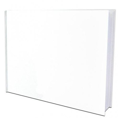 Hardcover Blank Book 8x6 Landscape  -