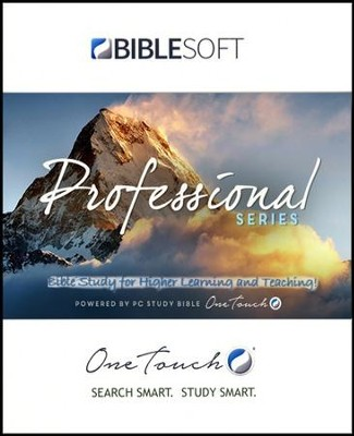 One Touch PC Study Bible Professional Series (Thumb Drive)  -