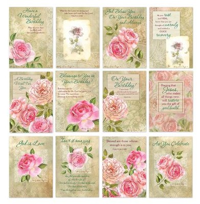 CBD Exclusive All Occasion Boxed Card Set French Rose by Sandy Clough  -     By: Sandy Clough