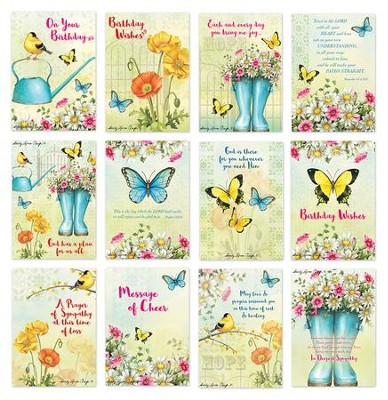 CBD Exclusive All Occasion Boxed Card Set Garden Garden Song  by Sandy Clough   -     By: Sandy Clough