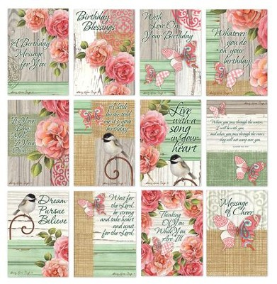 CBD Exclusive All Occasion Boxed Card Set Rustic Garden by Sandy Clough  -     By: Sandy Clough