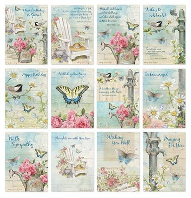 CBD Exclusive All Occasion Boxed Card Set Garden Path by Sandy Clough  -     By: Sandy Clough