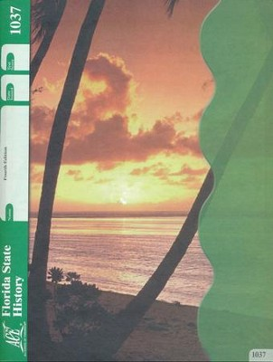 Florida State History ACE PACE 1037, Grade 4, 4th Edition  -