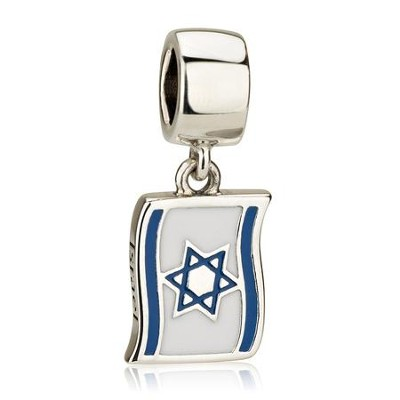 59d7a6f17dff88 Israel Flag Hanging Charm Bead: Marina - Christianbook.com