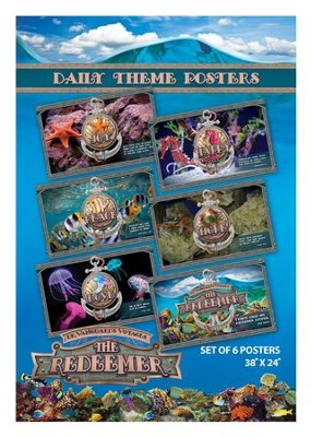 The Redeemer VBS: Daily Theme Posters   -