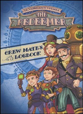 The Redeemer VBS: Crew Mate's Logbook with Stickers   -