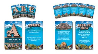 The Redeemer VBS: Live-It! Cards, set of 8   -