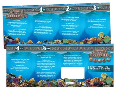 The Redeemer VBS: Salvation Tracts, pack of 25   -