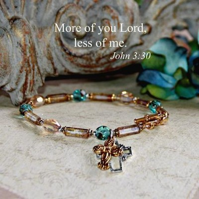 More Of You, Less Of Me Bracelet  -