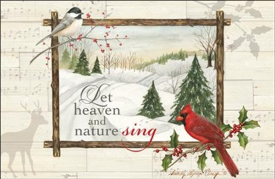 Let Heaven And Nature Sing, Box of 20 Christmas Cards  -     By: Sandy Clough