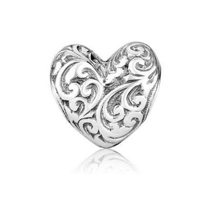 Heart Charm Bead  -     By: Marina