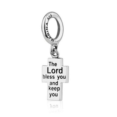 The Lord Bless You and Keep You: Hanging Charm Bead    -     By: Marina
