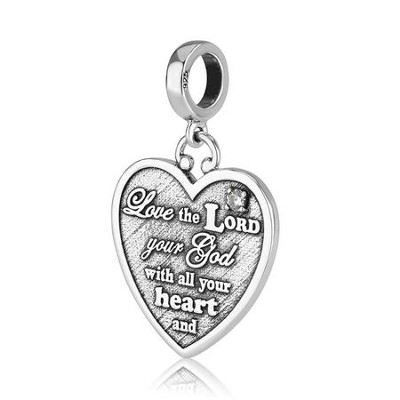 Love the Lord Hanging Charm Bead  -     By: Marina