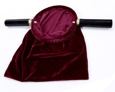 Value Offering Bag with Handle, Burgundy  -
