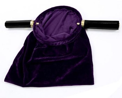 Value Offering Bag with Handle, Purple  -
