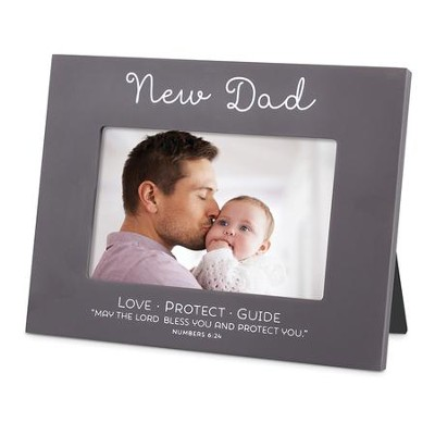 Blessed, New Dad Photo Frame   -