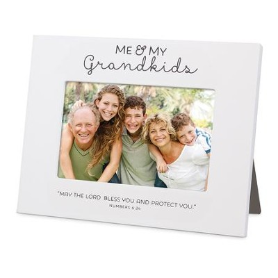 Blessed, Me And My Grandkids, Photo Frame   -