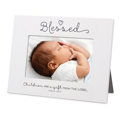 Blessed, Baby Ceramic Photo Frame   -