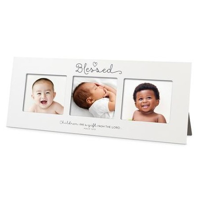 Blessed, Baby Multi Photo Frame   -