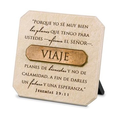 Journey (Viaje), Spanish Sculpted Plaque   -