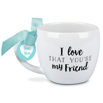 I Love That You're My Friend, Mug with Box                                       -