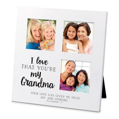 I Love That You Are My Grandma Small Collage Frame