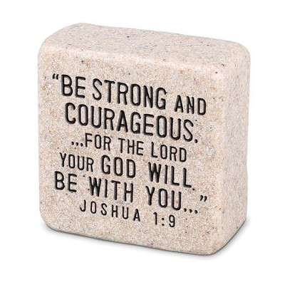 Be Strong, Shelf Sitter Stone                                  -