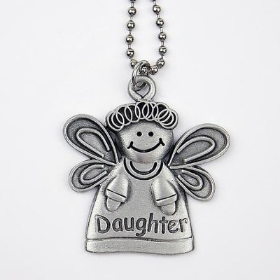 Angel, Daughter, Car Charm  -