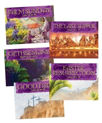 Walk With Jesus Collector Cards, 25 sets  -