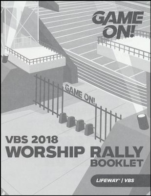 Game On: Worship Rally Booklet (pkg. of 25)  -